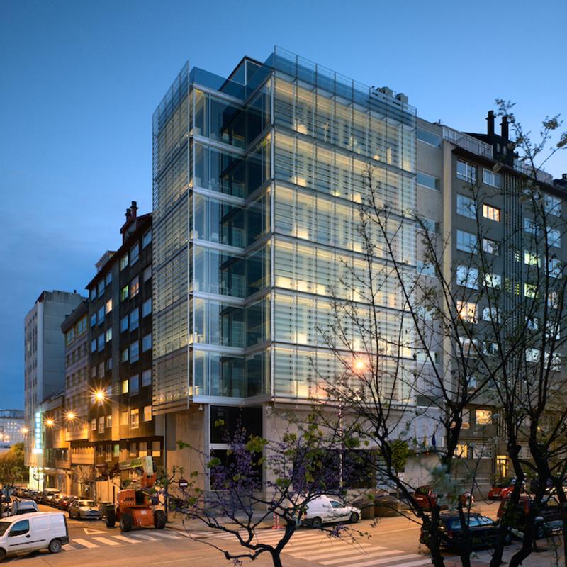 Oficinas Diputacion A Coruña.  VIER Arquitectos